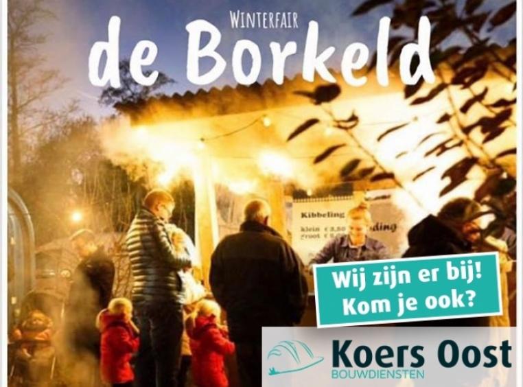Afbeelding bij Koers Oost aanwezig op de Winterfair 'De Borkeld'